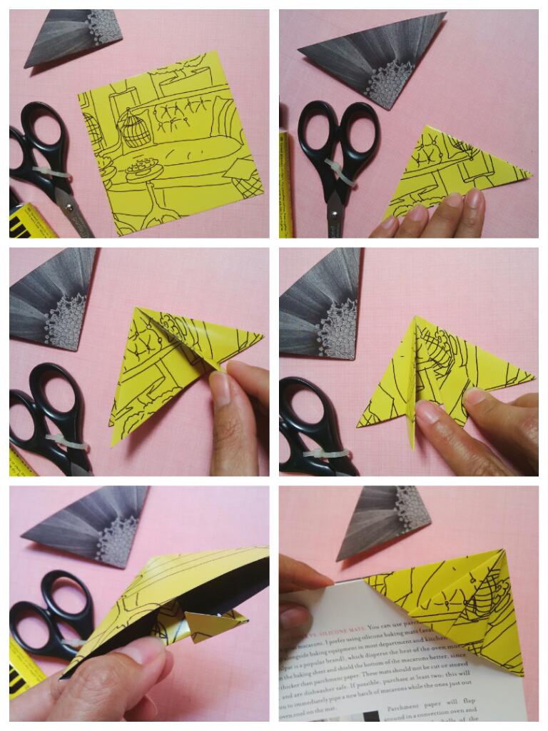 11+ Tutorial Origami Cara Membuat Pembatas Buku Dari Kertas Origami ... Fotos